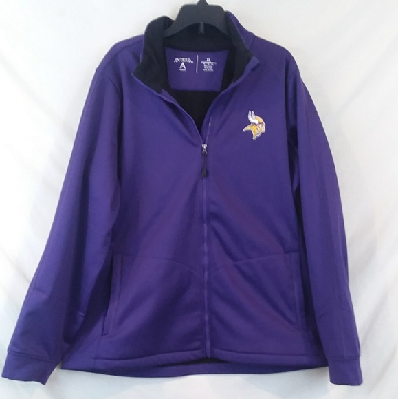 Antigua Jackets   Blazers - SALE TODAY!! Minnesota Vikings fleece-lined  jacket 2969edbea